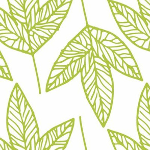 Leaves - Apple Green