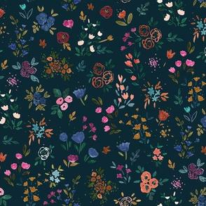 Darlene Floral Ditsy Dark
