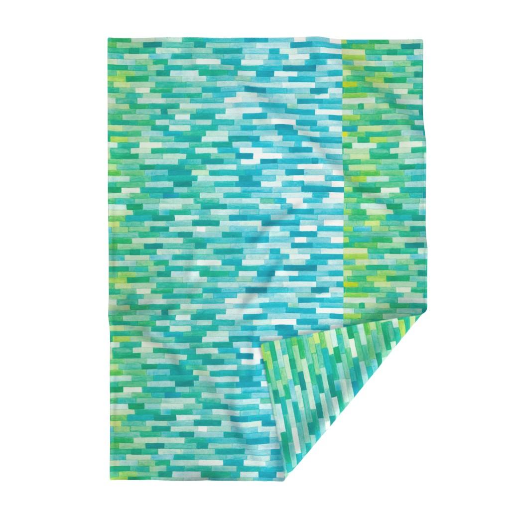 Lakenvelder Throw Blanket featuring AM by doodlena