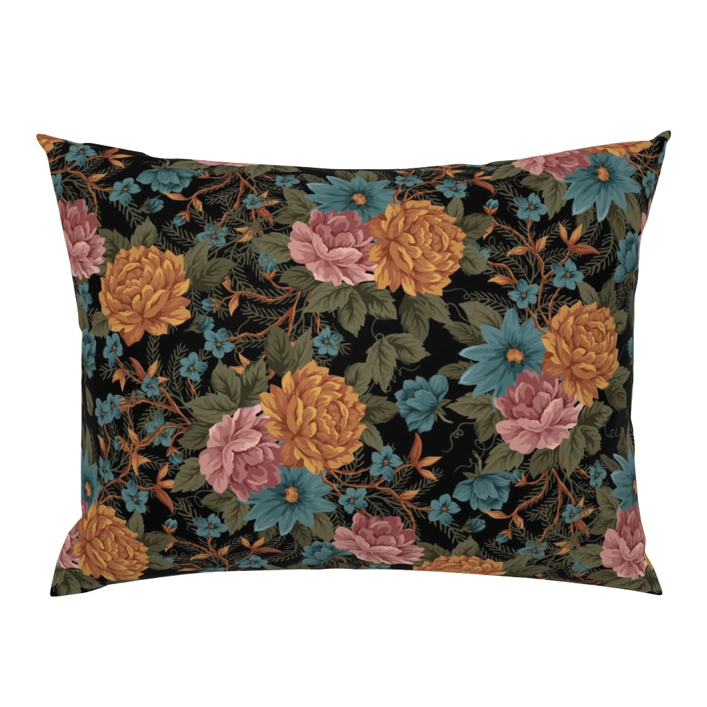 Campine Pillow Sham featuring Vintage Mood ©Julee Wood by jewelraider