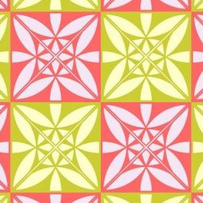 Modern Mosaic Pattern Fabric