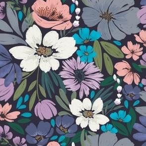 Moody Floral Fantasy