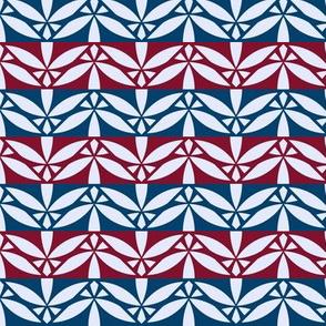Arabesque Border Pattern Fabric