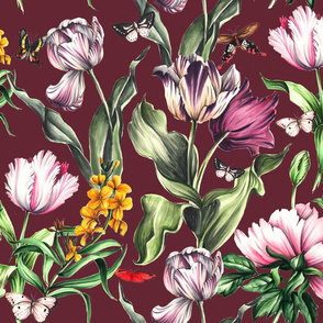 Moody Blooms - Marsala