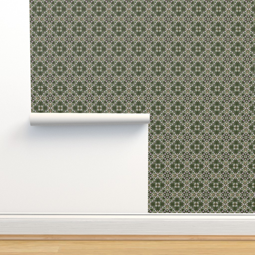 Isobar Durable Wallpaper featuring Garden Sprites ~ Pink Magnolia by catsinredhats
