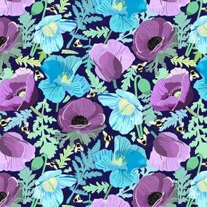 Moody Poppies