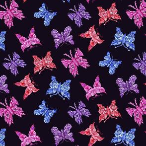 butterfly quartet multipcolor2