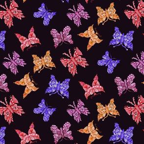 butterfly quartet multipcolor4