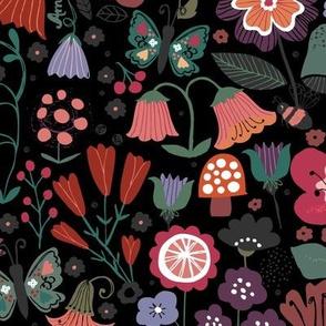 Floral Abundance (Dark)