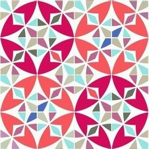 Arabesque Geometric Pattern Fabric