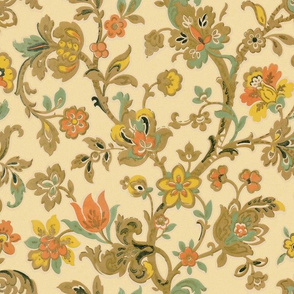 Vintage Persian Floral