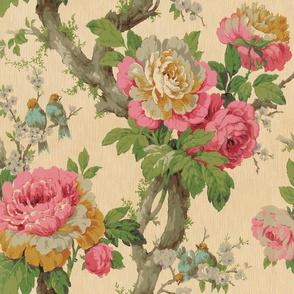 Vintage Cabbage Roses