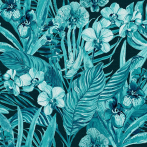 midnight Bohemian Orchids