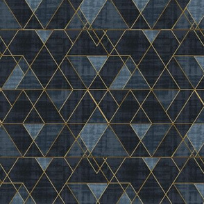 Mod Triangles Indigo S