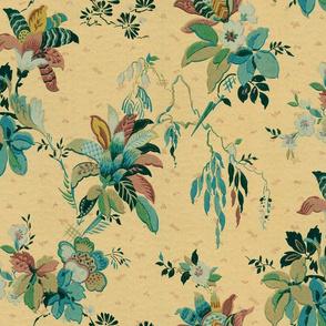 Vintage Variegated Foliage