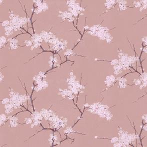 Vintage Cherry Blossoms - Rose