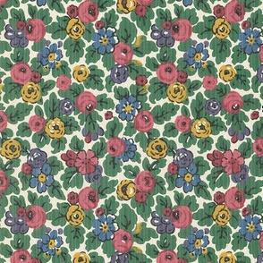 Vintage Cheery Flowers
