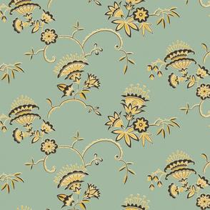 Vintage Art Deco Floral