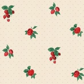 Vintage Cherries and Berries