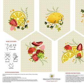 Strawberry Lemonade Garland