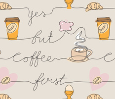 Yes but coffee first