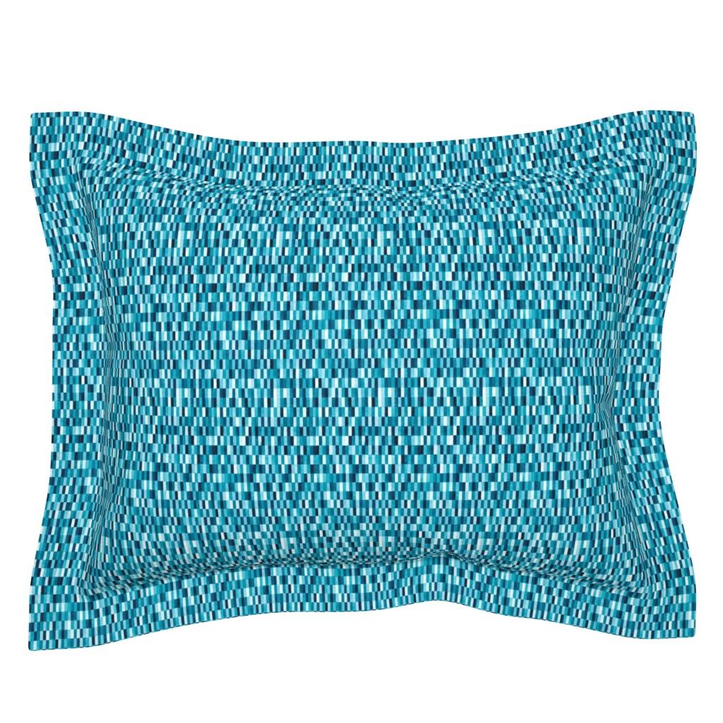 Sebright Pillow Sham featuring Martin by doodlena