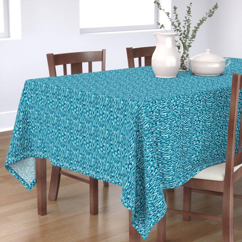 Bantam Rectangular Tablecloth featuring Martin by doodlena