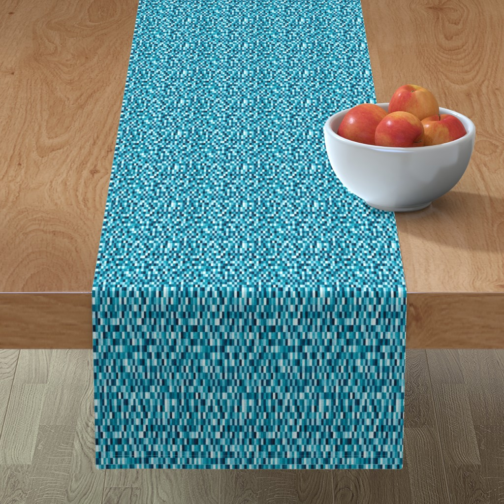 Minorca Table Runner featuring Martin by doodlena