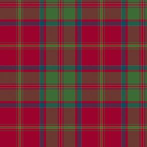 "MacDonald of Glencoe tartan - 10"" muted"