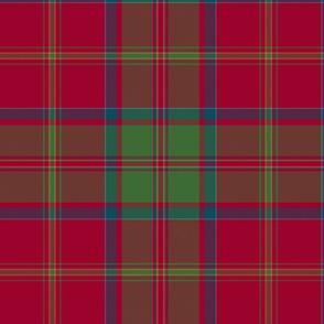 "MacDonald of Glencoe tartan - 12"" muted"