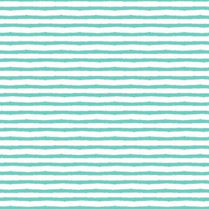teal stripes - C19BS