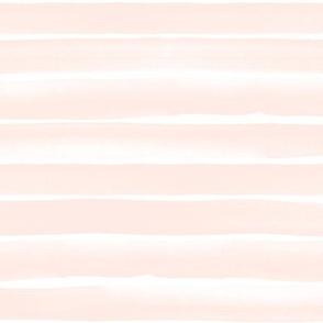 watercolor stripe-peach blush