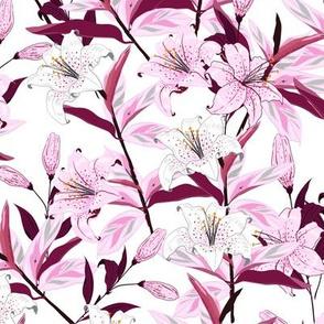 Violet Iris Garden