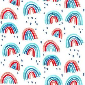 rainbows patriotic