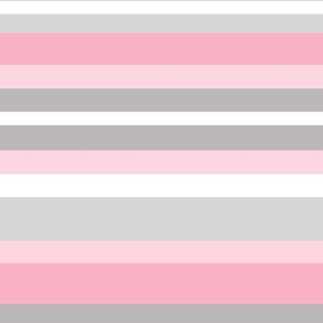 Pink Gray Grey Stripes Lines