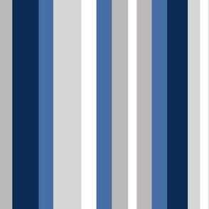 Navy Blue Gray Grey Stripes Lines
