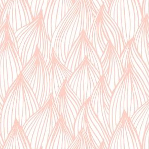 Succulent Leaves Blush Pink by Angel Gerardo