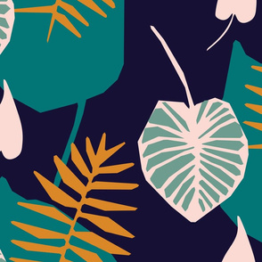 Tropical Jungle Oasis Pattern