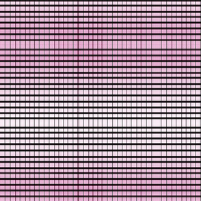 Black Lines with Pink Tiny Spots