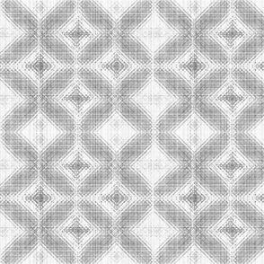 Grey n White Diamond