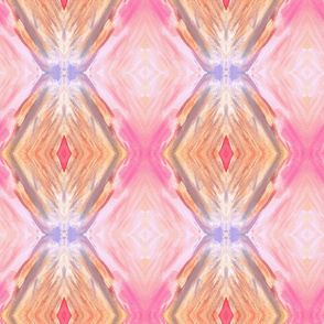 pink and orange diamond shape stripe pattern