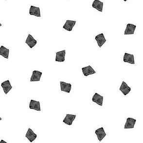 dark accordions small on white