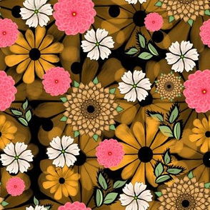 The Flowers Black