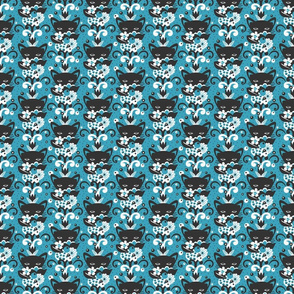 CAT FLORAL small