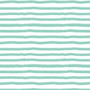 Mint Stripe by Angel Gerardo