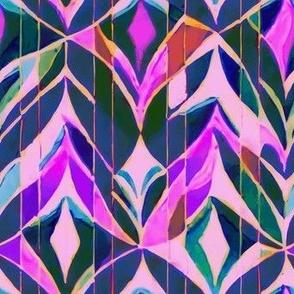 Arabesque Floral Mosaic
