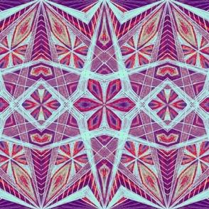 World Culture Geometric Pattern