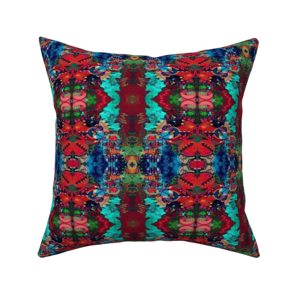 Catalan Throw Pillow featuring LWD Underwater City Before the Fire by loriwierdesigns