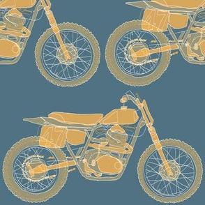 IMC650 Custom Handbuilt Motorcycle Vintage