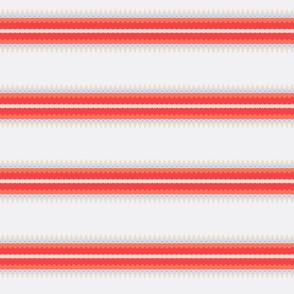 Orange and Cream Stripes Delight 2